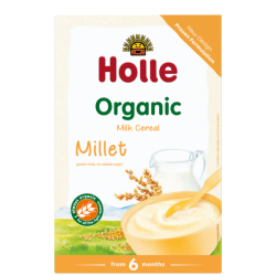 MILLET Milk Cereal, Organic, HOLLE